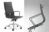 Konferenzstühle Fly, Klassiker im Design, ergonomischer Sitzkomfort