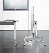 Konferenztische skill, mobil, flexibel auf Rollen, staffelbar, Tischplatte schwenkbar