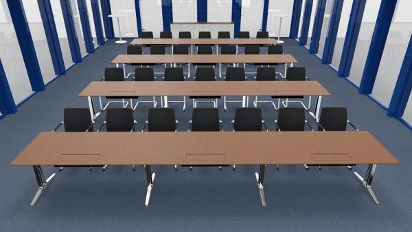 Konferenzsystemtische skill einzeln aufgestellt für Seminare