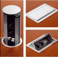 Elektrifizierungsboxen, versenkbar, klappbar, drehbar