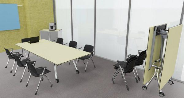 Konferenz-Falttisch für acht Personen