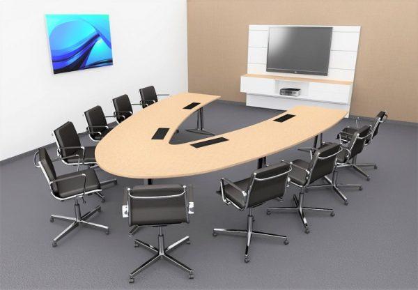 Konferenzstühle Fly sind Design-Klassiker