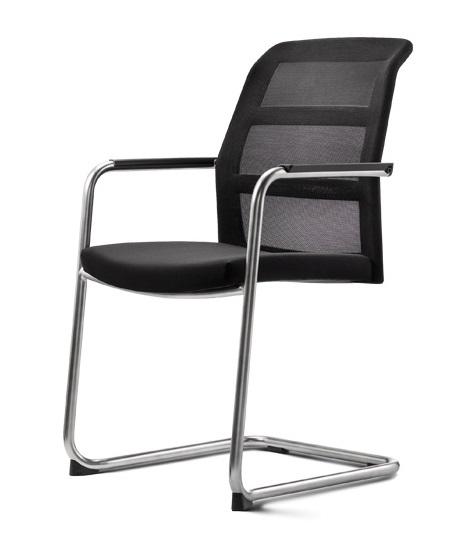 Konferenzstuhl freischwinger  Konferenzstühle paro-2 Freischwinger mit Netzrücken oder ...