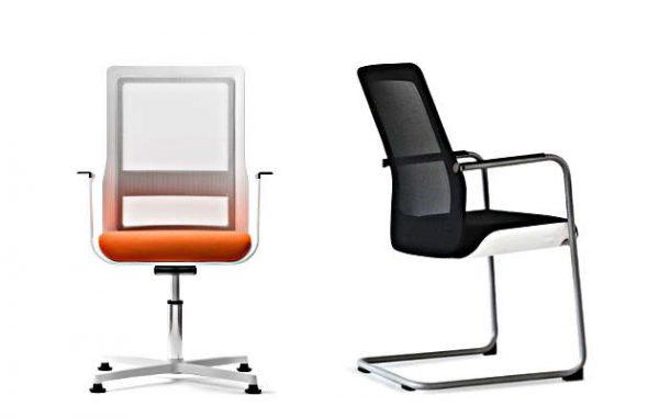 Konferenzstühle poi Drehsessel oder Freischwinger