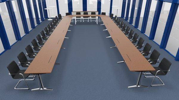 Konferenzsystemtisch skill für 30 Personen