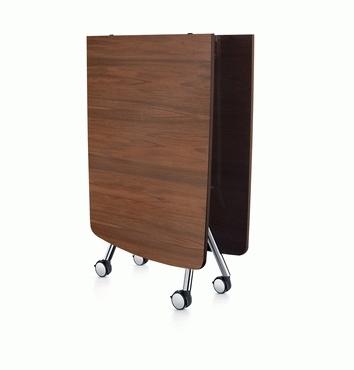 Konferenztisch fold, faltbar, klappbar und rollbar