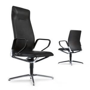 Konferenzdrehsessel Seline, repraesentativ, hoher Sitzkomfort