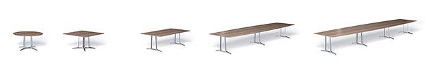 Konferenztisch skill Tischkonfigurationen