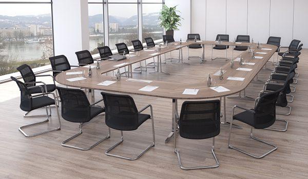 skill Systemtisch, Konferenztisch für 24 Personen