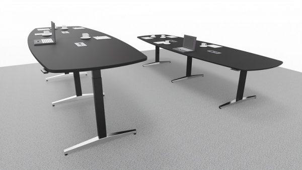 Steh-Sitz-Tisch, Konferenztische at-table
