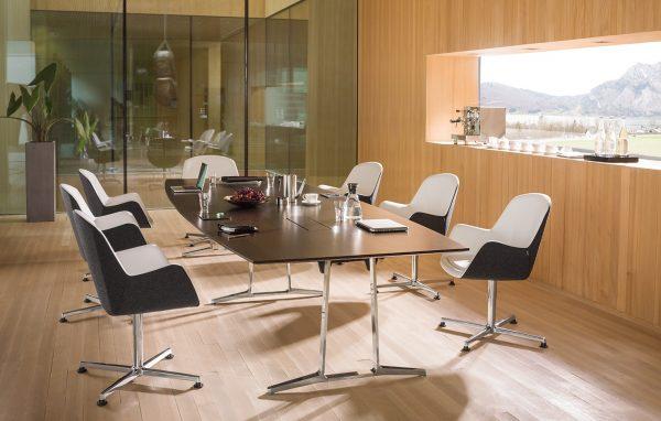 Konferenzmöbel, Konferenztisch skill und Konferenzdrehstühle