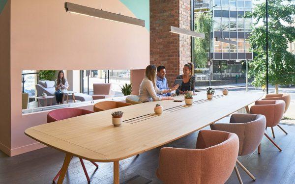 coworking Konferenztisch Bench wing