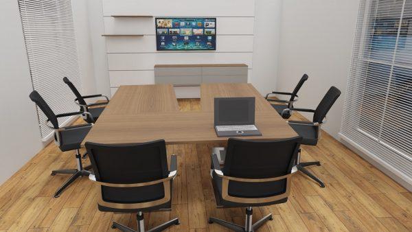 KLA Videokonferenztische sind wandelbar