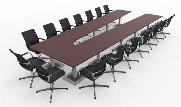 Videokonferenztische KLA für große Tischanlagen