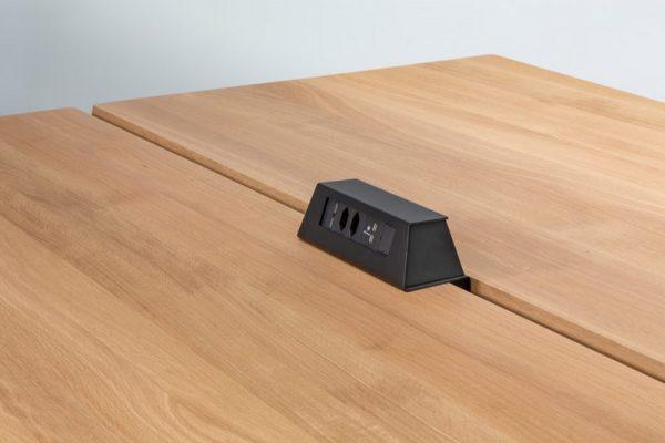 Ebox in schwarz, auftisch für lynx Konferenztische