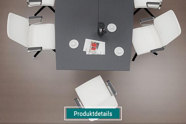 Konferenzraumtisch mit Konferenzstühle