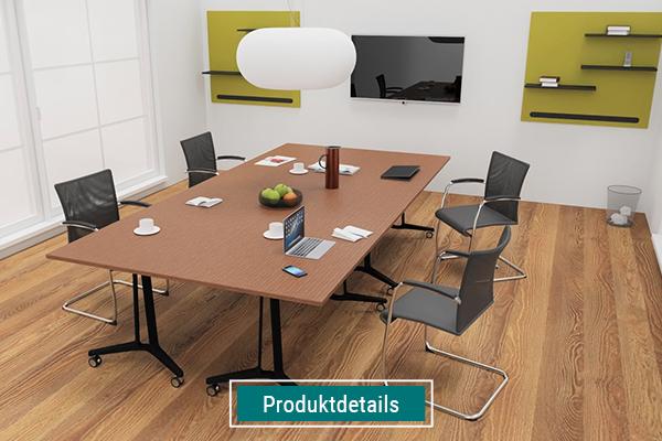 Möbel für Konferenzräume, Konferenztische auf Rollen