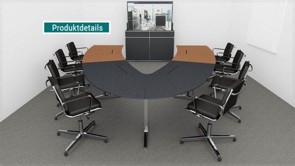 Ein funktionaler, guter Videokonferenztisch