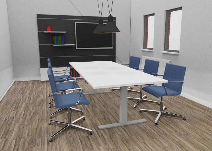 Konferenztisch MGT als Sitztisch